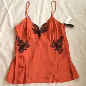 d940dc9d64 Natori Intimates   Sleepwear - Josie Natori Lillian Silk Camisole Top Lace  Cami